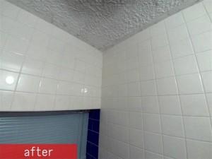 浴室目地洗い 施工後