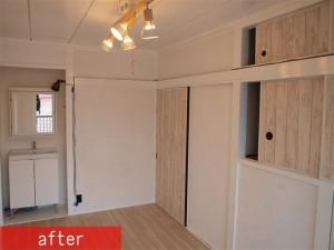 和室から洋室変更施工後