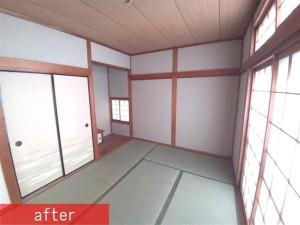 和室1階 施工後 (2)