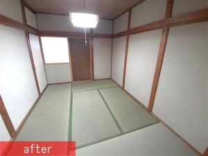和室2階施工後