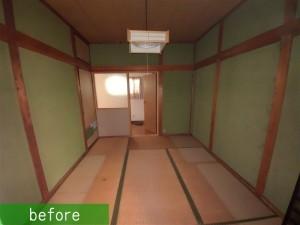 和室2階 施工前