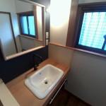 橋本市洗面化粧台の作り方