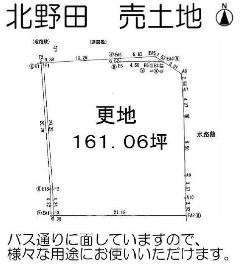 大阪府堺市 東区北野田 売り土地